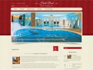 HotelBook Free WordPress Theme