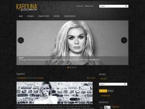Karolina Free WordPress Theme