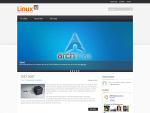 LinuxId Free WordPress Technology Theme