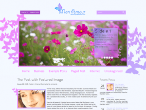 MonAmour Premium Free WordPress Theme