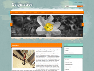 Originative Premium Free WordPress Theme