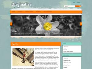 Originative Premium Free WordPress Theme