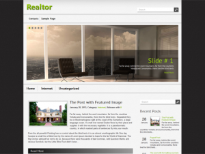 Realtor Free WordPress Real Estate Theme