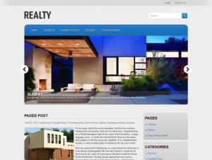 Realty Free Premium WordPress Real Estate Theme