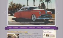 RetroCar Free Wordpress Automobile Theme