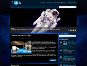 Sana Premium Free WordPress Theme
