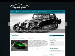 StylishCars Premium Free WordPress Automotive Theme