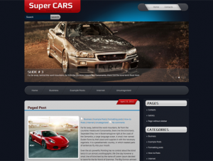 SuperCars Premium Free WordPress Automotive Theme
