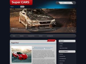 SuperCars Premium Free WordPress Automotive Theme