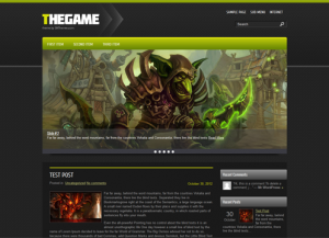 TheGame Premium Free WordPress Game Theme