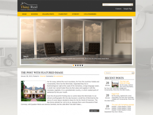 ThingReal Free WordPress Theme