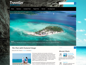 Traveller Free Premium WordPress Travel Theme