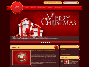 Xmas Free WordPress Holiday Theme