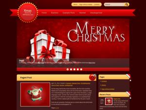 Xmas Free WordPress Holiday Theme