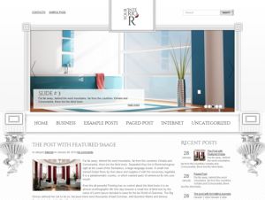 YourInterior Premium Free WordPress Interior Theme