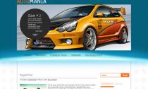 AutoMania Free Wordpress Car Theme
