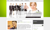 BizCard Free Wordpress Business Theme