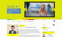 CinemaBazar Free Wordpress Cinema Theme