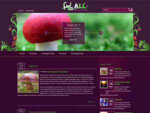 FindUsAll Premium Free WordPress Garden Theme