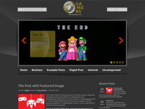 Gamers Premium Free WordPress Game Theme