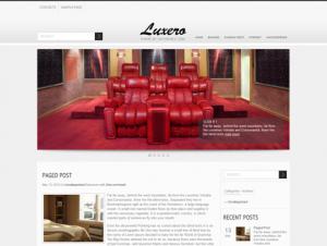 Luxero Free WordPress Interior Theme