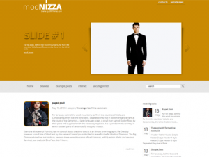 Modnizza Free WordPress Fashion Theme