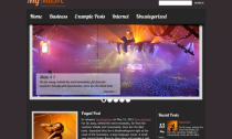 My Music Free Wordpress Theme Music