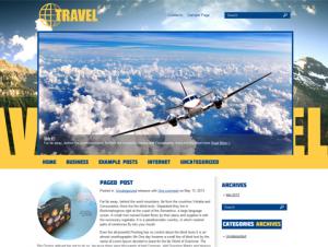 Travel Free WordPress Travel Theme