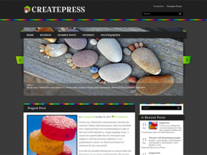 CreatePress Free Creative WordPress Theme