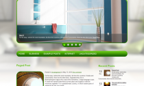 HomePress Free Wordpress Theme for Home Interiors