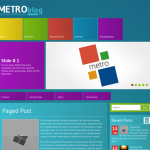 MetroBlog Free Creative Wordpress Theme