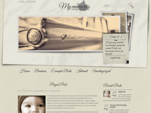 MyMemories Beautiful Free WordPress Theme