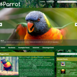 Parrot Premium Free Wordpress Nature Theme