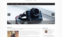 PhotoMag Free Wordpress Photo Blog