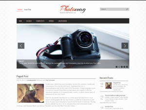 PhotoMag Free WordPress Photo Theme