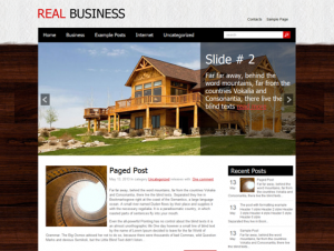 RealBusiness Free WordPress Real Estate Theme