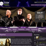 StormMusic Premium Wordpress Music Theme